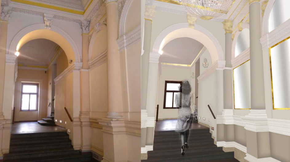 Renovation of common areas, Vinohradska 17, Prague